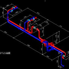 三次元計測配管CG | 株式会社タニキカン