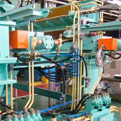 大型溶接機組立配管 1 | 株式会社タニキカン