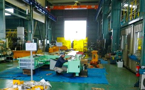 A棟・工場棟 | 製缶加工・配管据付工事のタニキカン