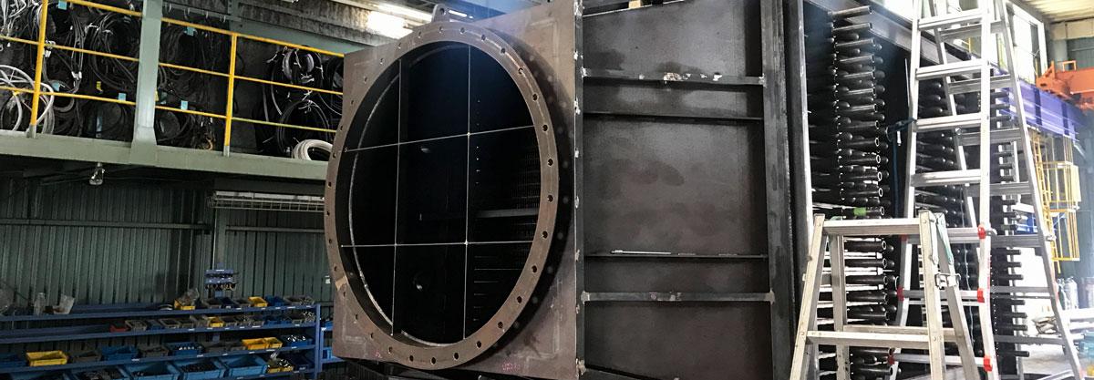 株式会社 タニキカン 工場のイメージ | 製缶加工・配管据付工事のタニキカン