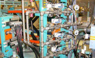 水圧試験装置 水圧試験機バルブユニット | 株式会社 タニキカン 制作実績