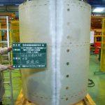 耐圧試験タンク及び耐圧試験タンク(動的圧力発生装置)保護管製作 イメージ4   株式会社タニキカン 製作実績